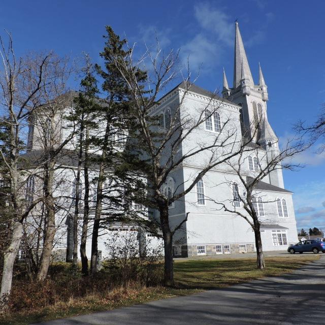 Eglise Sainte- Marie, Church Point Nova Scotia