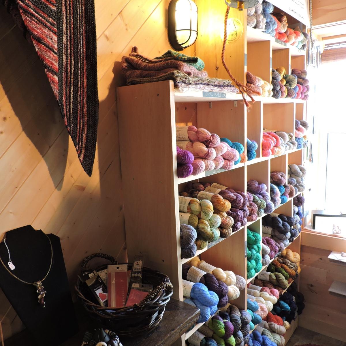 Seawall Fibres - Hand dyed yarns